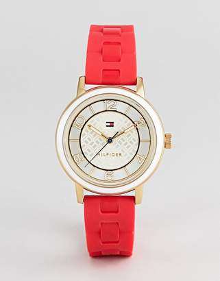 Tommy Hilfiger Nina Watch In Red