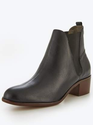 Hudson London Compound Leather Chelsea Ankle Boot