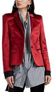 Taverniti So Ben Unravel Project Women's Deconstructed Silk Blazer - Red