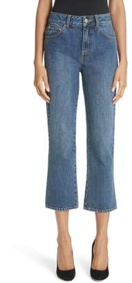Co Essentials Crop Flare Jeans