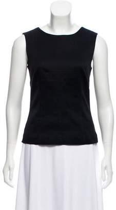 Dolce & Gabbana Sleeveless V-Back Top