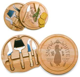 Picnic Time Disney Snow White Circo Wood Cheese Board with Tool Set