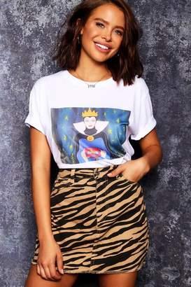 boohoo Disney Evil Queen Tee