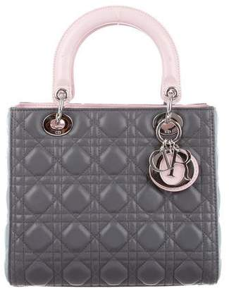 Christian Dior Medium Lady Bag w/ Strap