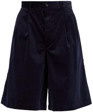 Comme des Garcons Wide-leg corduroy shorts