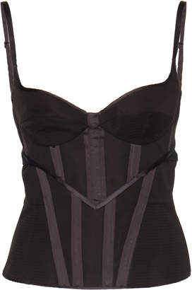 Olivier Theyskens Adjustable Bra Corset
