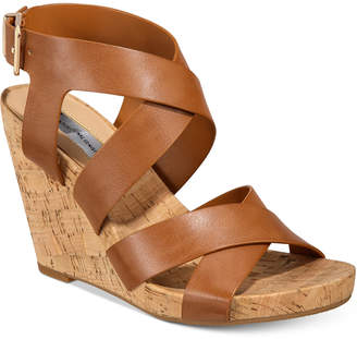 d93242ba28e INC International Concepts I.n.c. Women Landor Strappy Wedge Sandals