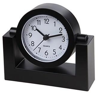 "Timekeeper TimeKeeper TK6851 4"" Swivel Desktop Clock, Black"