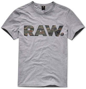G Star Men's Tahire Camo Logo T-Shirt, Created for Macy's