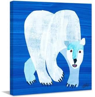Eric Carle Marmont Hill Polar Bear Art Print on Premium Canvas