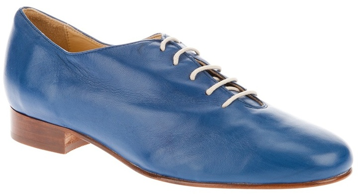 Labour Of Love blue leather tap shoe