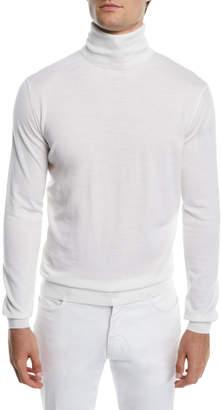 Ermenegildo Zegna Men's Wool/Cashmere Turtleneck Sweater