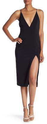 Jay Godfrey Slit Midi Dress