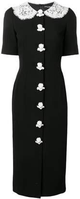 Dolce & Gabbana angel button dress