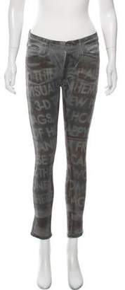 Each X Other Distressed Mid-Rise Skinny Jean