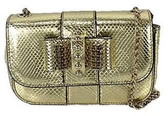 Christian Louboutin Sweety Charity Watersnake Mini Crossbody Bag