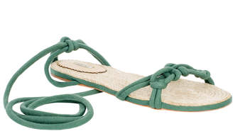 Max Studio jack : strappy wrap-up sandals