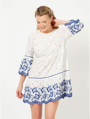 George Embroidered Dress
