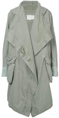Greg Lauren oversized parka coat