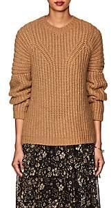 Ulla Johnson Women's Kitty Alpaca-Blend Sweater-Camel
