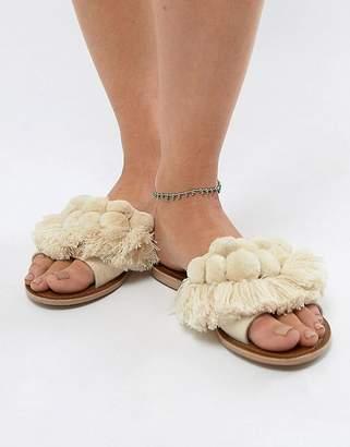 Asos Design Summer Bead Anklet