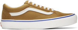Vans Brown Suede OG Old Skool LX Sneakers $65 thestylecure.com