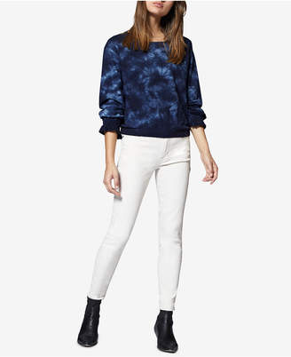 Sanctuary Tie-Dye Long-Sleeve Cotton Sweatshirt