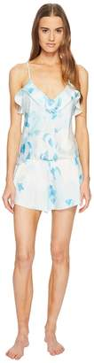 Kate Spade Moroccan Rose Satin Romper Women's Jumpsuit & Rompers One Piece