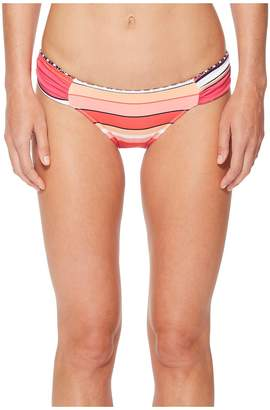 Tommy Bahama Petals of Paradise Reversible Side-Shirred Hipster Bikini Bottom Women's Swimwear