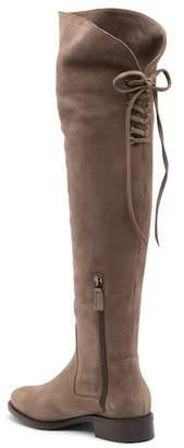 Aquatalia Nicki Suede Knee-High Boot