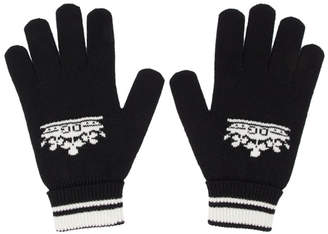 Dolce & Gabbana Black Cashmere Gloves