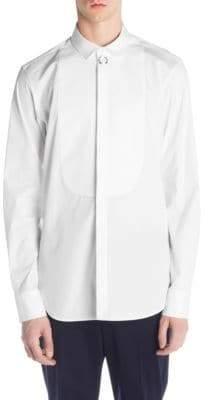 Neil Barrett Poplin Bib Shirt