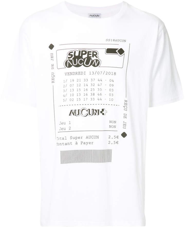 Collectif Aucun T-Shirt mit Print