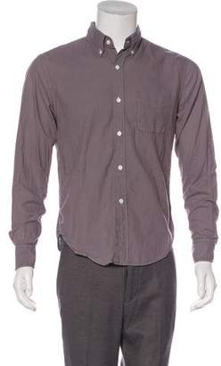 Band Of Outsiders Woven Button-Up Shirt