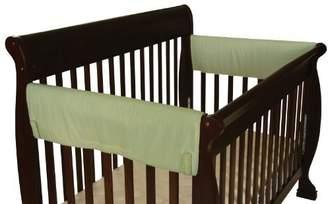 Leachco Easy Teether XL Side Crib Rail Cover, 2 Pack, Sage by