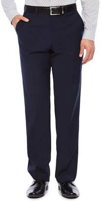 Jf J.Ferrar Stripe Slim Fit Stretch Suit Pants - Slim