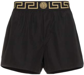 Versace Greek Key Border swim shorts