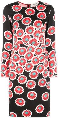 Diane von Furstenberg Kimono Blossom print dress
