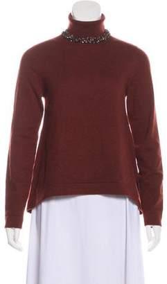 Brunello Cucinelli Embellished Turtleneck Sweater