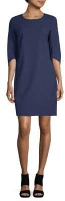 Lafayette 148 New York Miriam Wool-Blend Sheath Dress