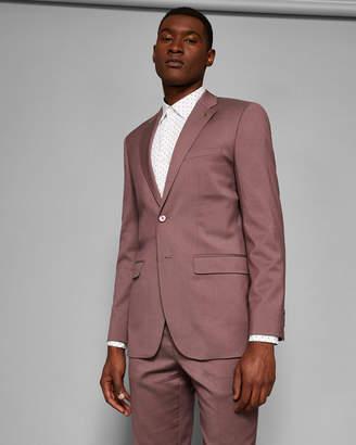 Ted Baker PALACEJ Slim fit plain wool suit jacket