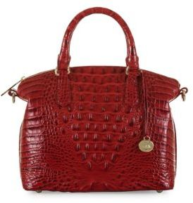 Brahmin Duxbury Embossed Leather Satchel $275 thestylecure.com