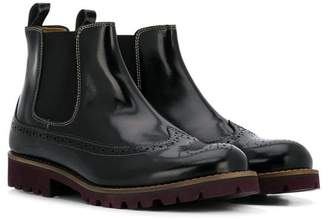 Gallucci Kids brogue Chelsea boots