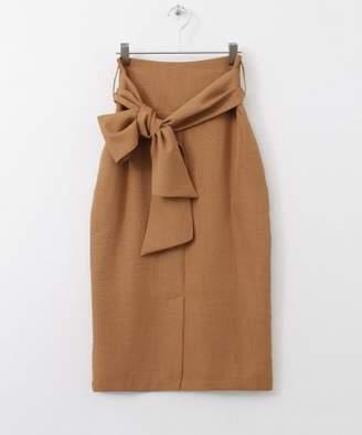 KBF (ケイ ビー エフ) - KBF サッシュベルト付きタイトスカート