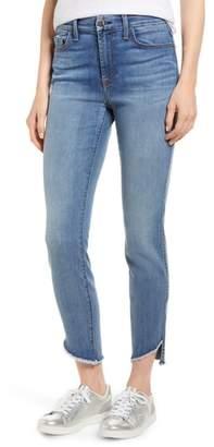 Jen7 Raw Hem Skinny Jeans