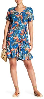 Cotton On & Co. Charli Floral Print Wrap Dress