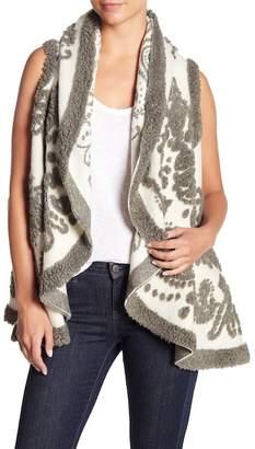 Berek Paisley Twist Wool Blend Vest