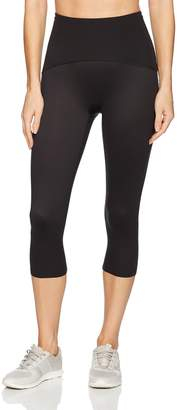Spanx Women's Plus Size Active Compression Knee Length Leggings