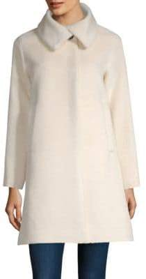 Jane Post Classic A-Line Coat