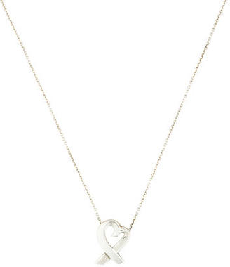 Tiffany & Co. Loving Heart Pendant Necklace $95 thestylecure.com
